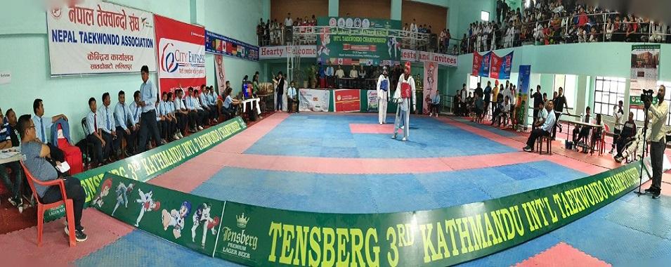 3rd Kathmandu International Taekwondo Championship को अन्तिम दिनको खेल तथा पधक बिजेताहरुका केहि झलकहरु ।